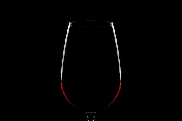 Sagoma di bicchiere di vino