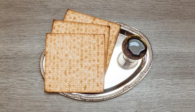 Vino e pane azzimo pasquale ebraico pane azzimo pasquale vino pasquale