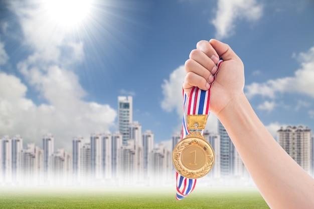Premio vincitore per le persone che sono il campione numero uno.