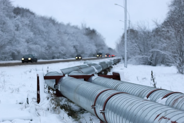 Gasdotto invernale