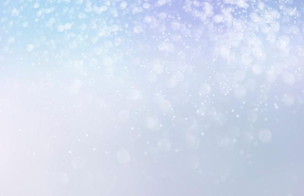Fondo del bokeh di scintillio di vacanze invernali