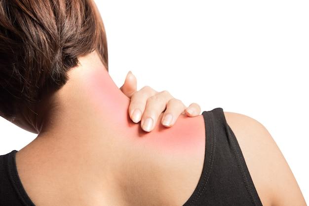Papazione operaia al muscolo della spalla destra