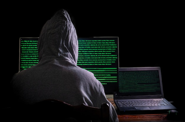 L'hacker femminile irrompe nei server di dati del governo