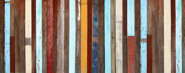 Legno invecchiato arte dipinta architettura texture sfondo banner.