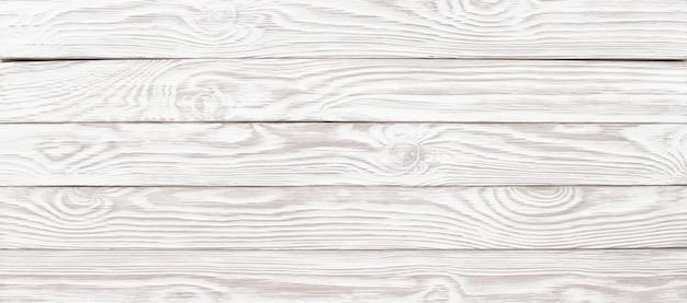 Sfondo di legno lavagna bianca, vista panoramica in legno texture per il design
