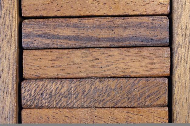 Struttura del fondo del blocco di legno.