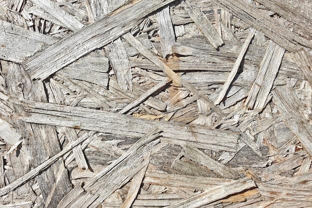 Fondo incollato in truciolare di legno
