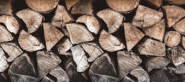 Fondo di legno del mucchio.