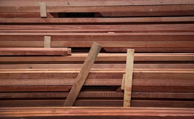 Priorità bassa di struttura di legno dalla vista dall'alto in natura
