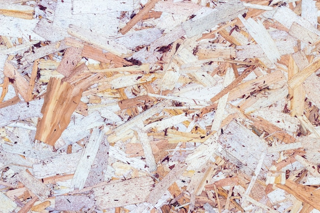 Priorità bassa di struttura di legno fatta di trucioli di legno pressato