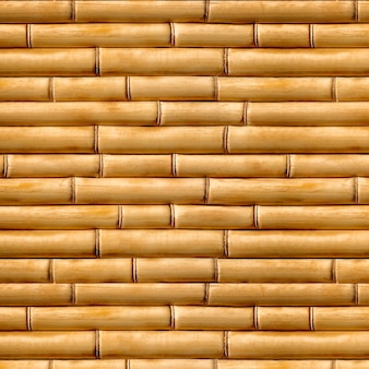 Struttura di legno, materiale naturale di fondo, struttura senza cuciture marrone di bambù