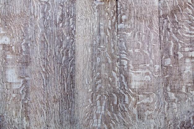 Struttura di legno. primo piano della struttura in legno vintage delle vecchie tavole dipinte.