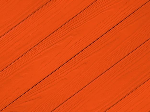 Struttura di legno dipinta in sfondo rosso