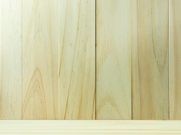 Una parete di legno per l'immagine di sfondo o texture.