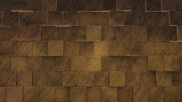 Fondo di struttura delle mattonelle di legno 3d