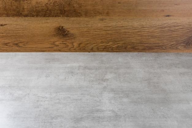Fondo in legno vuoto. copia spazio. sfondo.