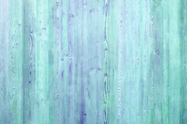Fondo di legno nei colori turchese e blu
