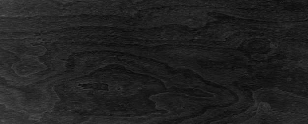 Fondo nero di legno con struttura. bandiera della plancia nera.