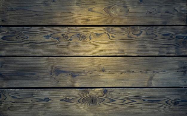 Sfondo di assi di legno. vecchie tavole con struttura in legno