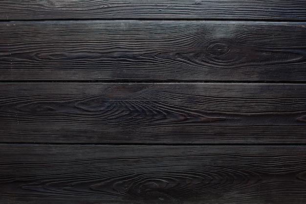 Legno marrone scuro retrò shabby plance parete, tavolo o pavimento texture banner background.wood scrivania foto mockup carta da parati design per la decorazione.