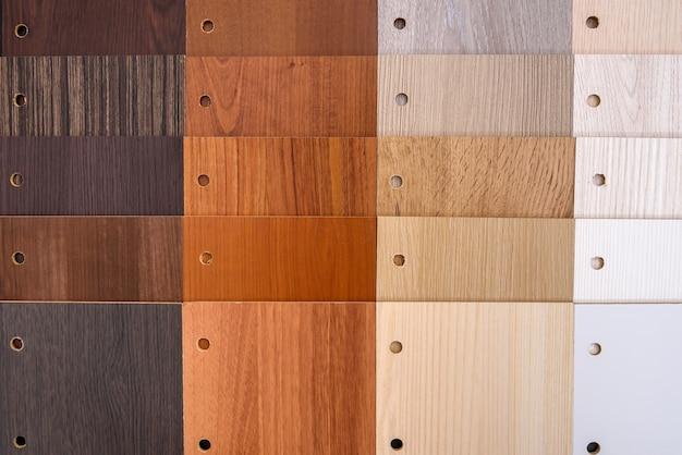 Campionatore in legno in file da vicino come sfondo