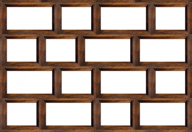 Ripiano in legno isolato