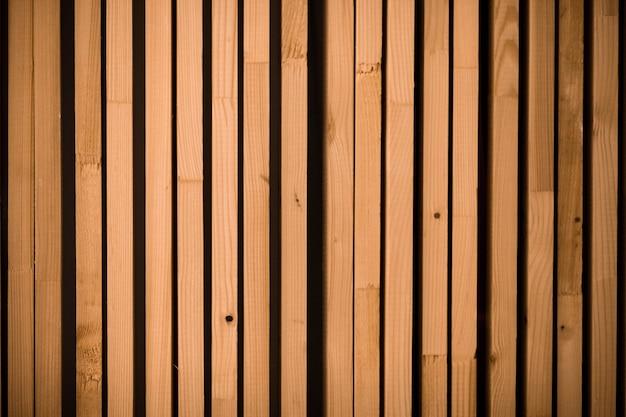 Sfondo di doghe in legno.
