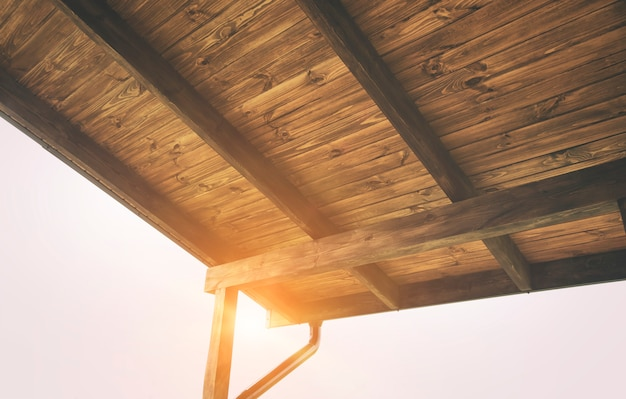 Terrazza in legno a casa