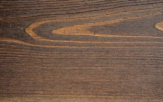 Priorità bassa di struttura in legno. vecchia struttura di legno marrone per testo o design di lavoro per il prodotto sullo sfondo. vista dall'alto, tavolo da cucina in legno, struttura in legno macro