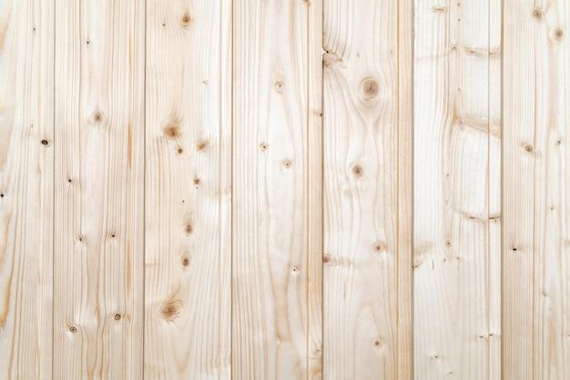 Struttura della parete di legno, fondo di colore giallo della plancia con i bordi verticali. vista ravvicinata del modello in legno, trama piatta.