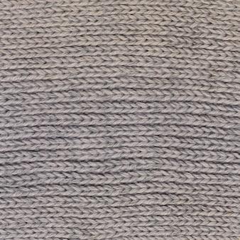 Struttura del maglione di lana da vicino, trama lavorata a maglia, sfondo a maglia