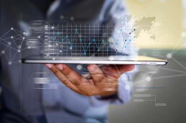 Lavorare sodo data analytics statistiche informazioni tecnologia aziendale