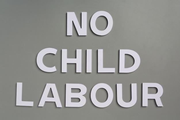 Giornata mondiale contro il concetto di lavoro minorile
