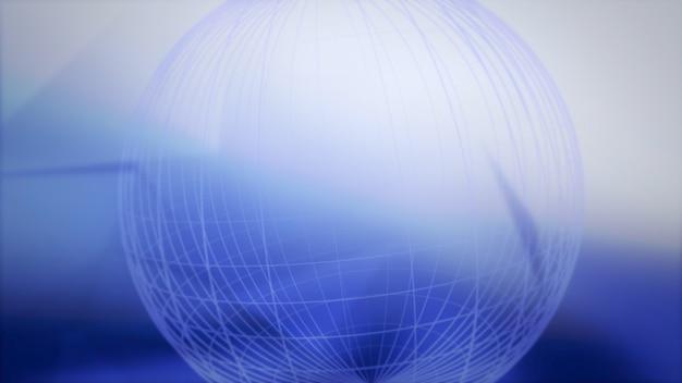 Fondo dell'estratto della mappa di mondo. elegante stile dinamico per affari, illustrazione 3d