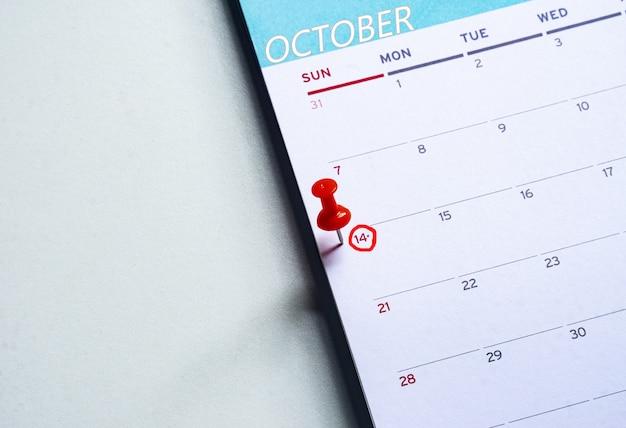 Giornata mondiale della matematica, 14 ottobre. copia spazio. vista dall'alto