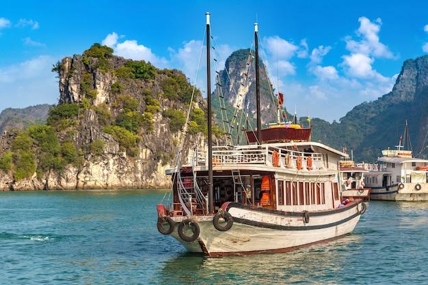 Patrimonio naturale mondiale baia di halong in vietnam