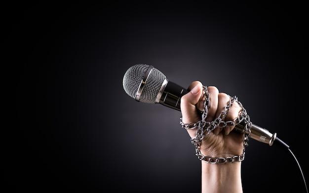 Giornata mondiale della libertà di stampa concetto