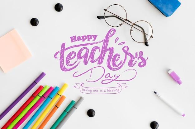 Celebrazione della giornata mondiale dell'insegnante