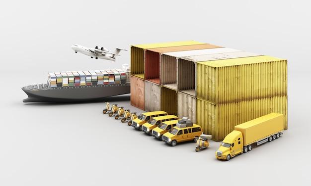 Trasporto mondiale di container