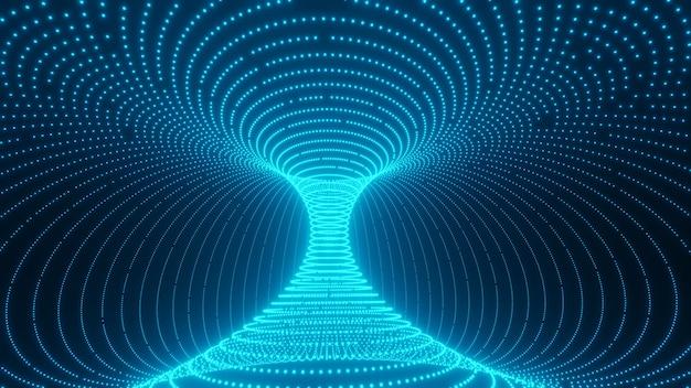 Una scorciatoia a forma di verme attraverso l'universo