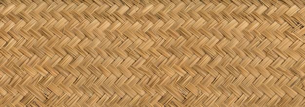 Trama di bambù intrecciata