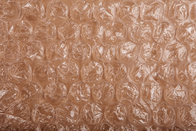 Avvolgimento di bolle di plastica texture