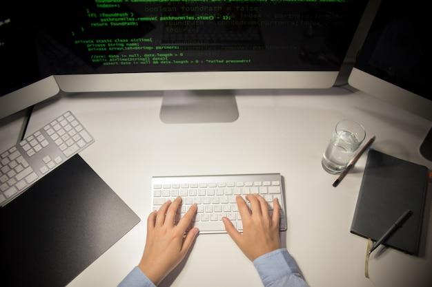Scrivere codice in ufficio