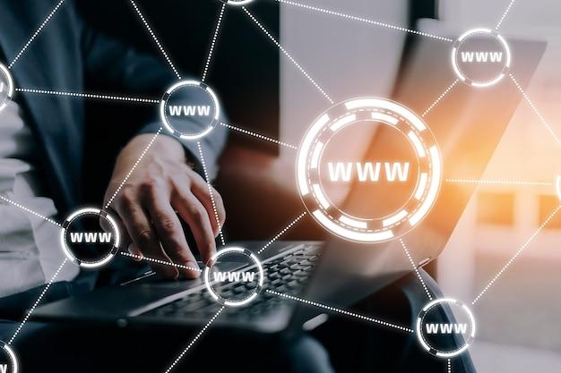 Www - world wide web su internet globale.