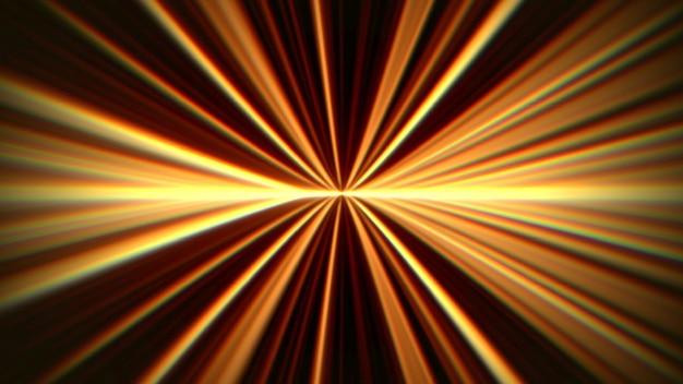 Linee di movimento astratte gialle con rumore in stile anni '80, sfondo retrò. stile di illustrazione 3d di gioco dinamico elegante e lussuoso