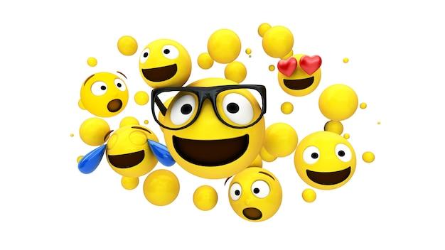 Personaggi gialli galleggianti