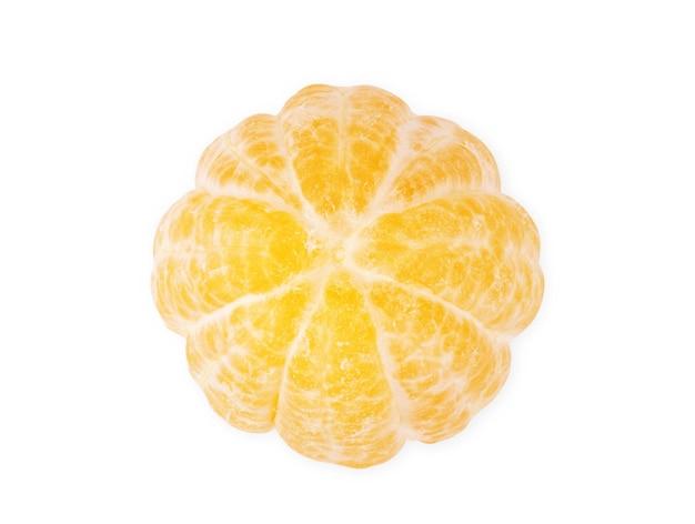 Giallo limone agrumi isolati su sfondo bianco