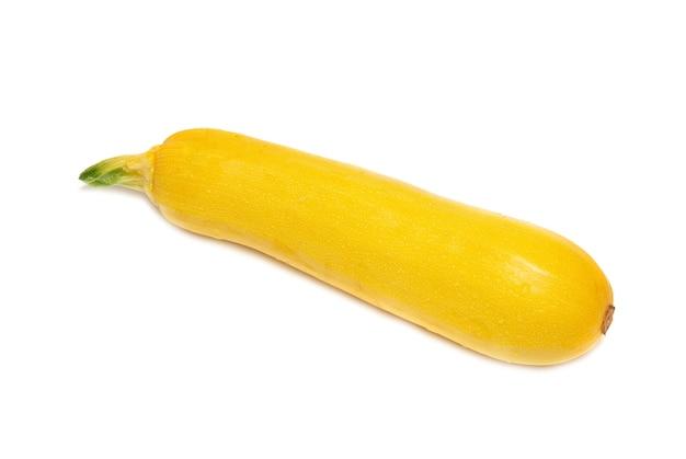 Midollo giallo isolato su sfondo bianco