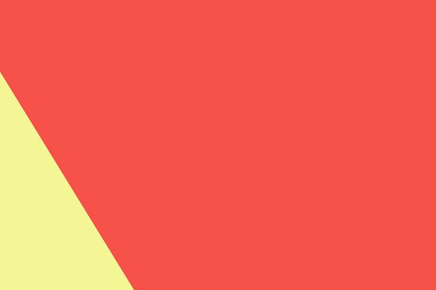 Colore di carta pastello giallo e rosso per il fondo di struttura