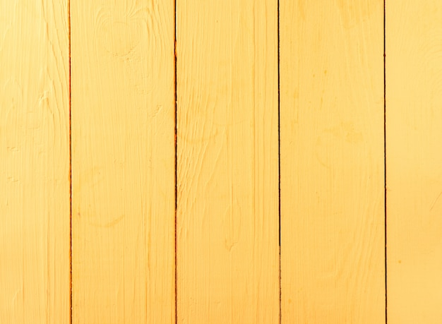 Sfondo giallo in legno